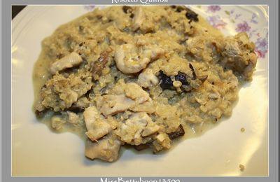 Risotto de quinoa au poulet champignons