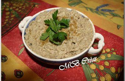 Caviar d'aubergines à l'Arménienne
