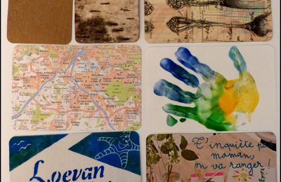 Project Life ou smash Book idée de carte DIY originale