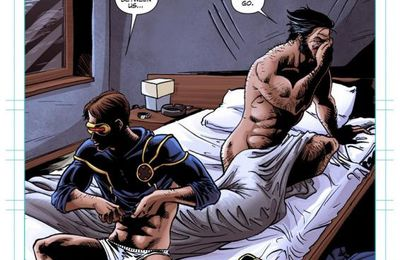 X-men Schism - Wolverine & Cyclope