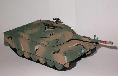 char sud-coréen K1A1 - South Korean K1A1 MBT - Academy 1/48