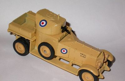 Rolls Royce Armoured Car - Matchbox 1/48