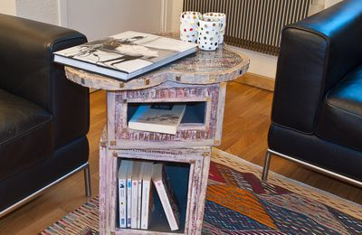 "TABLE ""ORIENTALE"" - IN SITU (MEUBLE CARTON)"