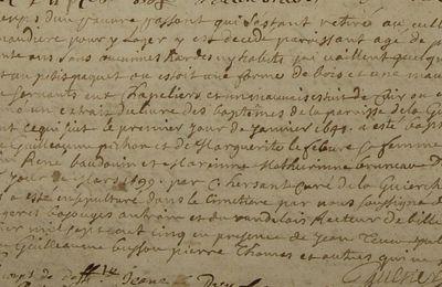 Pierre, pauvre passant (1705)