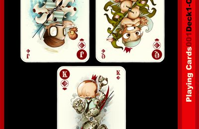 playing cards - suite