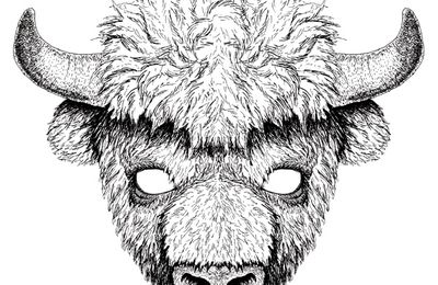 masque bison # 5