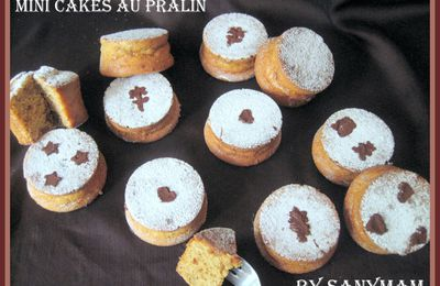 Mini-cakes au pralin