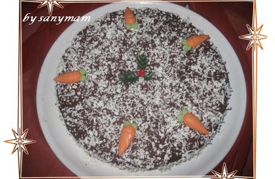Cake aux carottes