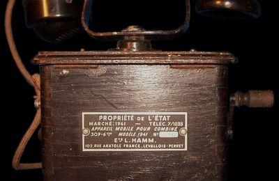 Téléphone de type Marty modèle 1941