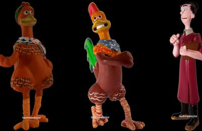 Figurines Chiken Run