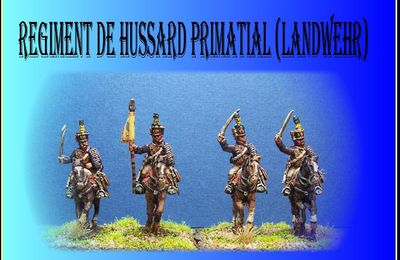 Régiment des hussards Primatial Insurrection