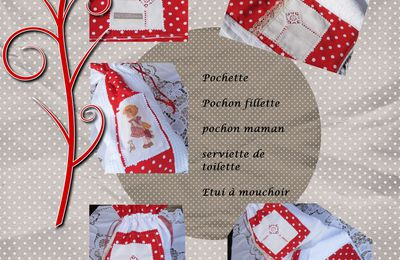 "Collection ""pois rouge"""