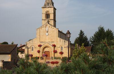 Tancon, l'église.