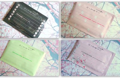 Les masques My Beauty Diary