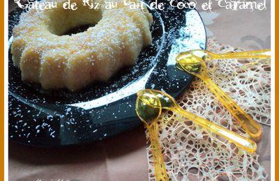 Gâteau de Riz au Lait de Coco et Caramel