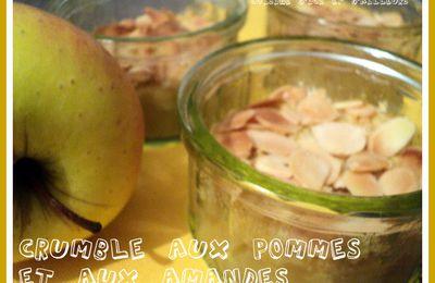 Crumble aux Pommes et aux Amandes