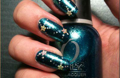 Halley's comet+ fleurs