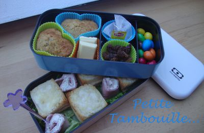 "Bento ""Croque-Monsieur"" & ""Mini-Cake"""