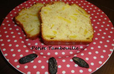 Cake aux Pommes et Fève Tonka