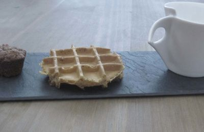 GAUFRE LIEGEOISE AU SPECULOOS