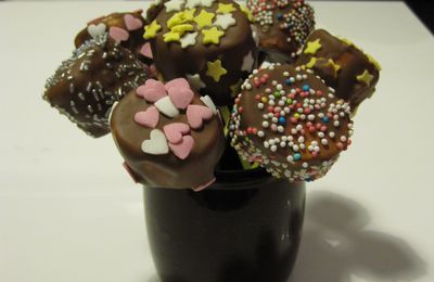 SUCETTES CHAMALLOW CHOCOLAT