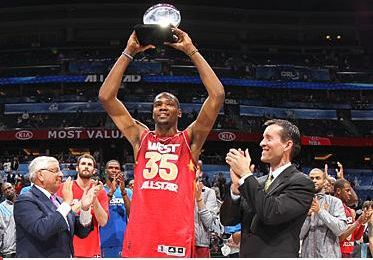 Kevin Durant MVP du All-Star Game 2012