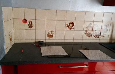 Cr dence autocollante cuisine for Renovation credence cuisine