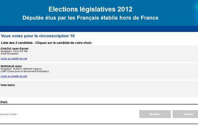 Législatives à l'étranger 2e tour