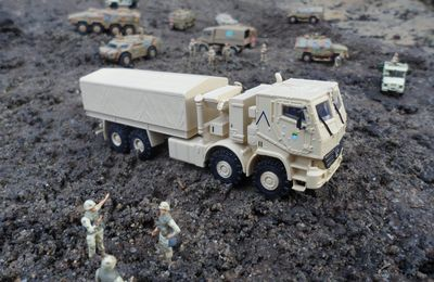 Actros AHSVS - armoured heavy Support vehicle system -