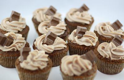 Cupcakes au Kinder