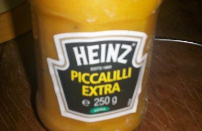 Poêlée de courgettes et choux blanc sauce Picadilly