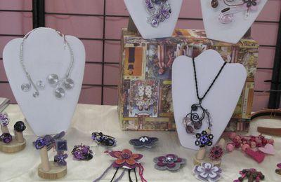 Exposition bijoux Edmée