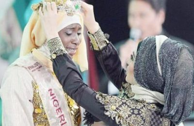 Nigerian Wins Muslim Beauty Pageant