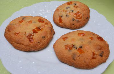 Cookies d'Halloween au potiron et chocolat