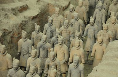 xi'an: the terracotta soldiers by albi
