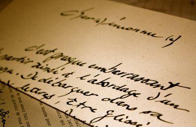 Ma 1ère Lettre d'un Inconnu