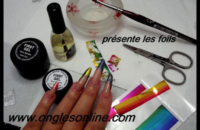 test foils boutique ongles on line