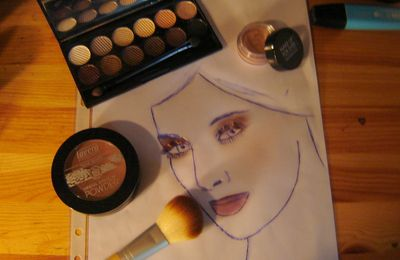 "Variation autour de la palette Sleek ""So Natural""..."