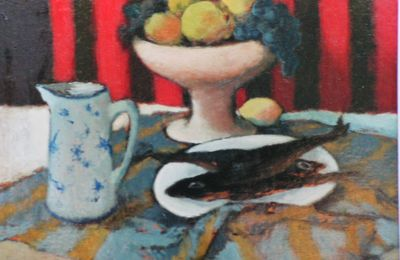 Nature morte Harengs :1956
