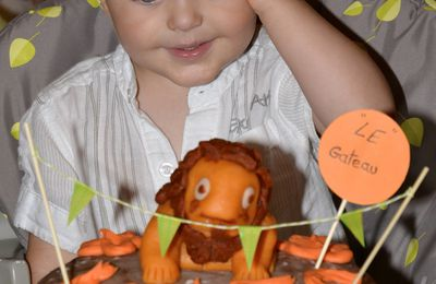 HAPPY BIRTHDAY P'TIT J...2 ANS DÉJÀ...