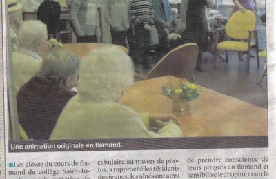 Le Journal des Flandres du 28.12.2011