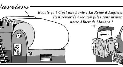 Strips les ouvriers / 11