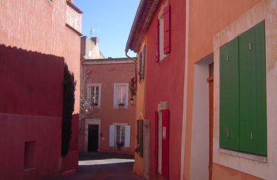 Balade à Roussillon et Gordes