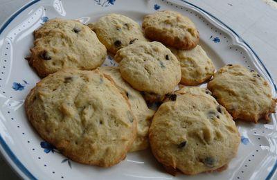 Cookies vanille,banane et pépites de chocolat
