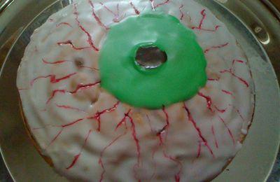 Mon oeil oui ... (notre gâteau d'Halloween)