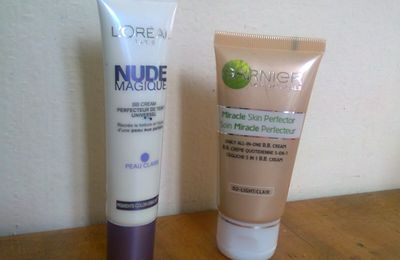 BB cream L'Oréal vs BB Cream Garnier