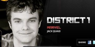 Casting des participants des 12 Districts de Hunger Games