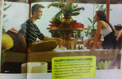 Nouvelles photos de Twilight 4 - Breaking Dawn dans People Magazine