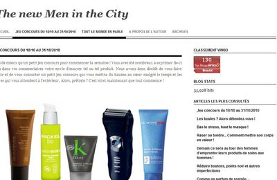 (concours)The new Men in the City !!!