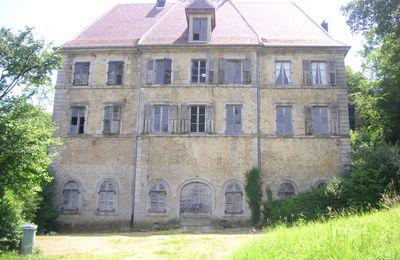 Le château de Rochelle, DFCF 39-020, activé le 3 juillet 2010